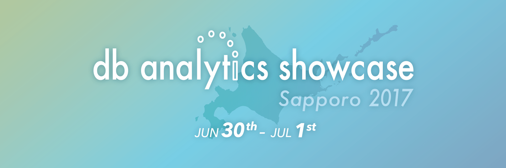 db analytics showcase Sapporo 2017