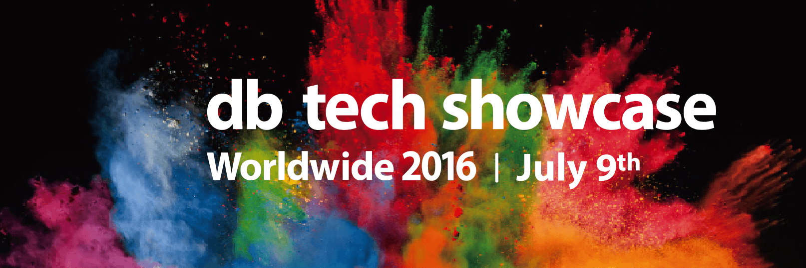 db tech showcase Worldwide 2016